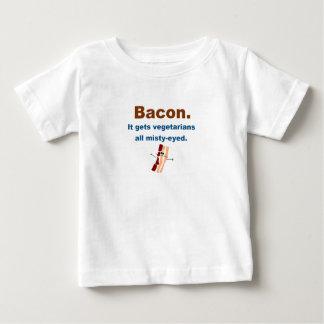 Bacon gets vegetarians misty-eyed shirt