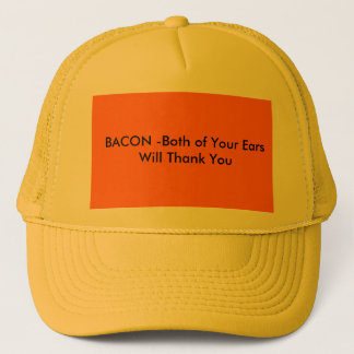 Bacon Hat Template