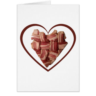 Bacon Heart Card
