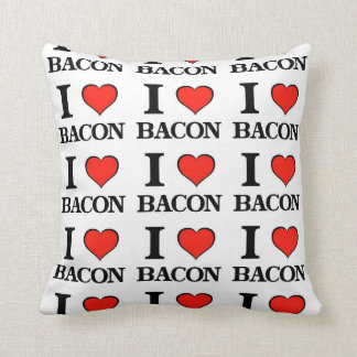 Bacon Heart Cushion