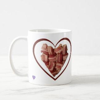 Bacon Heart Left-handed Mug