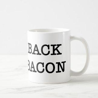 Bacon I Love Back Basic White Mug