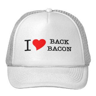 Bacon I Love Back Trucker Hat