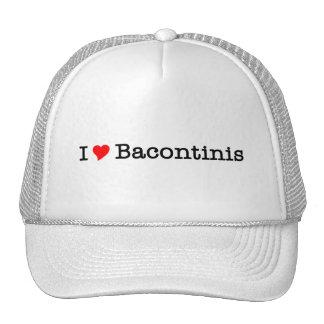 Bacon I Love Bacontinis Trucker Hats