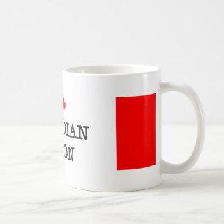 Bacon I Love Canadian Basic White Mug