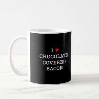 Bacon I Love Chocolate Basic White Mug