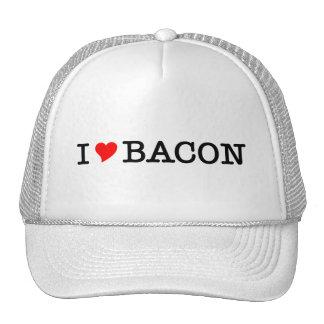 Bacon I Love Mesh Hats