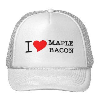 Bacon I Love Maple Trucker Hat