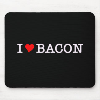 Bacon I Love Mouse Pads