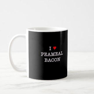 Bacon I Love Peameal Basic White Mug