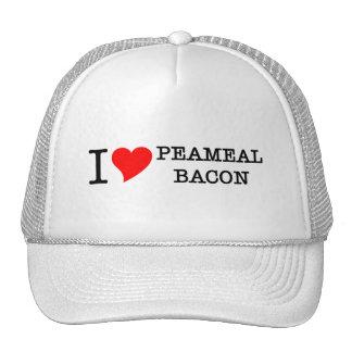 Bacon I Love Peameal Trucker Hats