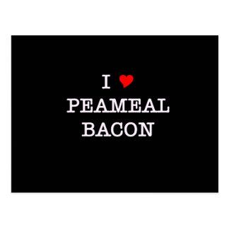 Bacon I Love Peameal Postcard