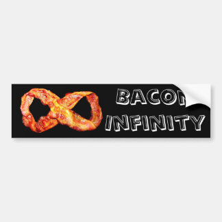 Bacon Infinity Bumper Sticker