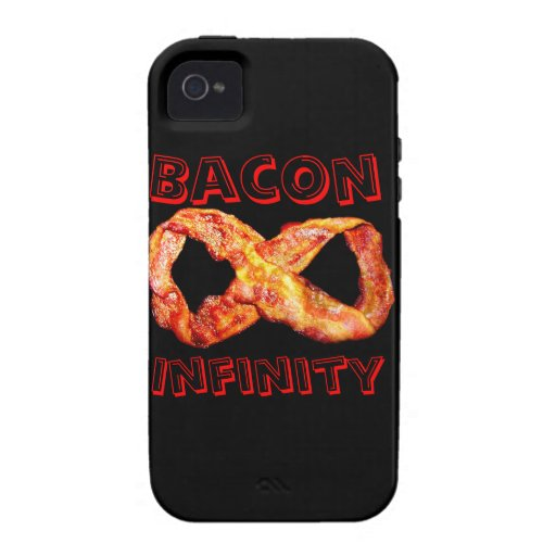 Bacon Infinity Case-Mate iPhone 4 Covers