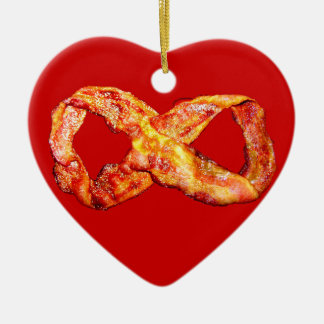 Bacon Infinity Christmas Ornament