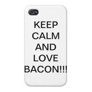 bacon iPhone 4 covers
