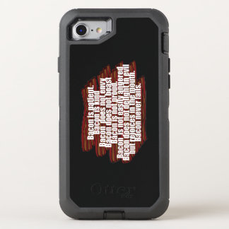 Bacon is Kind OtterBox Defender iPhone 8/7 Case