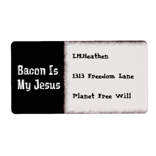 Bacon Is My Jesus
