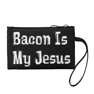 Bacon Is My Jesus Coin Purse