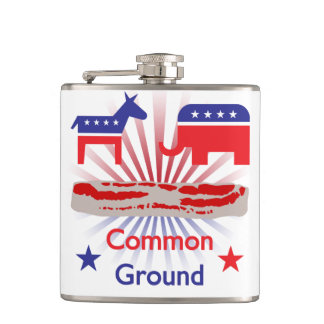 Bacon! It's Common Ground Hip Flask