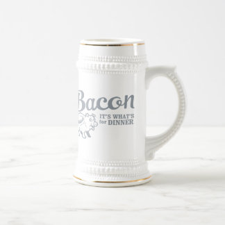 bacon - it's whats for dinner mug