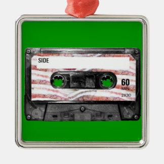 Bacon Label Cassette Christmas Ornament