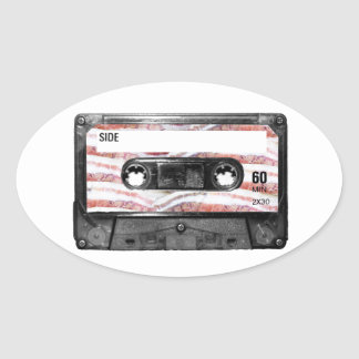 Bacon Label Cassette Sticker