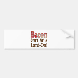 Bacon Lard Bumper Sticker