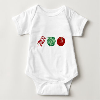 Bacon Lettuce & Tomato - The BLT! Baby Bodysuit