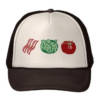 Bacon Lettuce & Tomato - The BLT! Mesh Hats