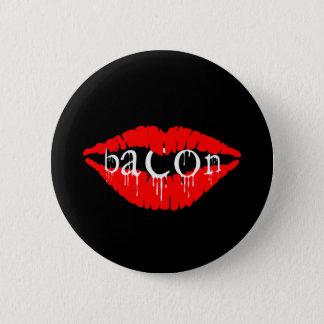 Bacon Lips 6 Cm Round Badge