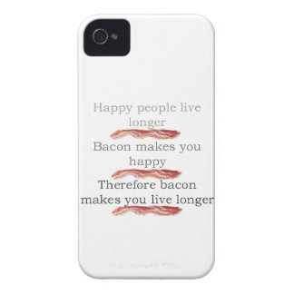 Bacon Logic with Bacon iPhone 4 Case-Mate Cases