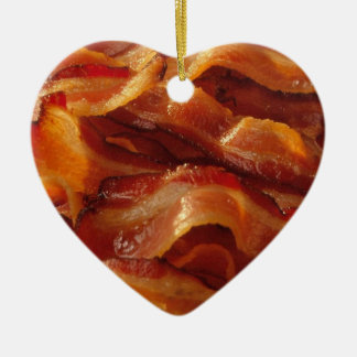 Bacon Love Christmas Ornament