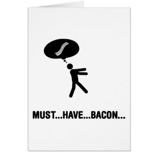 Bacon Lover Cards