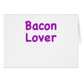 Bacon Lover Card