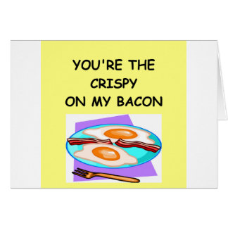 BACON lover Card