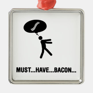 Bacon Lover Christmas Ornament