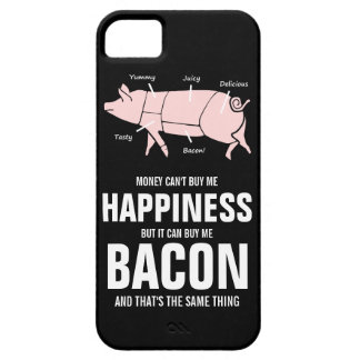 Bacon Lover  Funny Juicy Tasty Pink Pig iPhone 5 Cases
