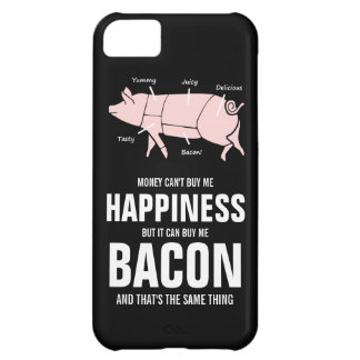 Bacon Lover  Funny Juicy Tasty Pink Pig iPhone 5C Case
