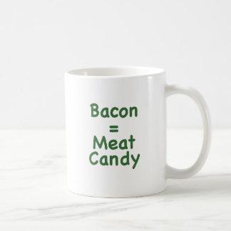 Bacon = Meat Candy Coffee Mug