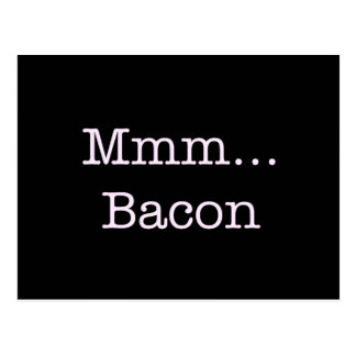 Bacon Mmm Postcard