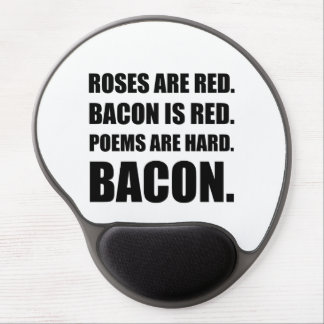 Bacon Poem 2 Gel Mouse Pad
