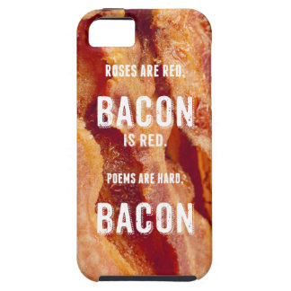 Bacon Poem iPhone 5 Cases