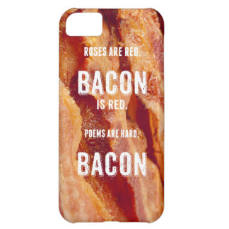 Bacon Poem Cover For iPhone 5C