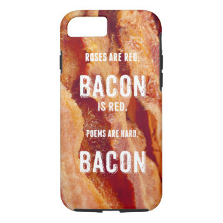 Bacon Poem iPhone 7 Case