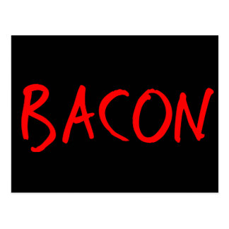 Bacon Post Cards