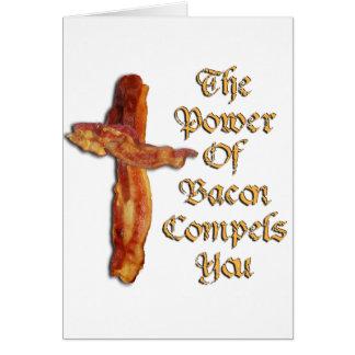 Bacon Power Card