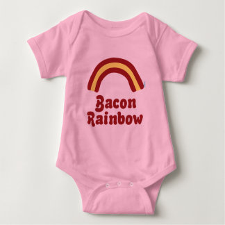 Bacon Rainbow Baby Clothes Baby Bodysuit