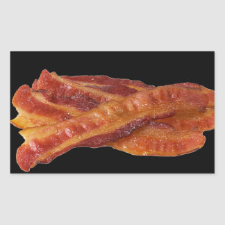 """Bacon"" Rectangular Sticker"