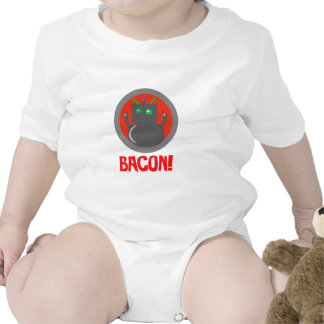 Bacon Robot Baby Clothes Romper